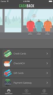 CashBack App Dashboard